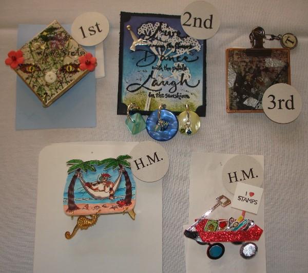 Pin contest winners